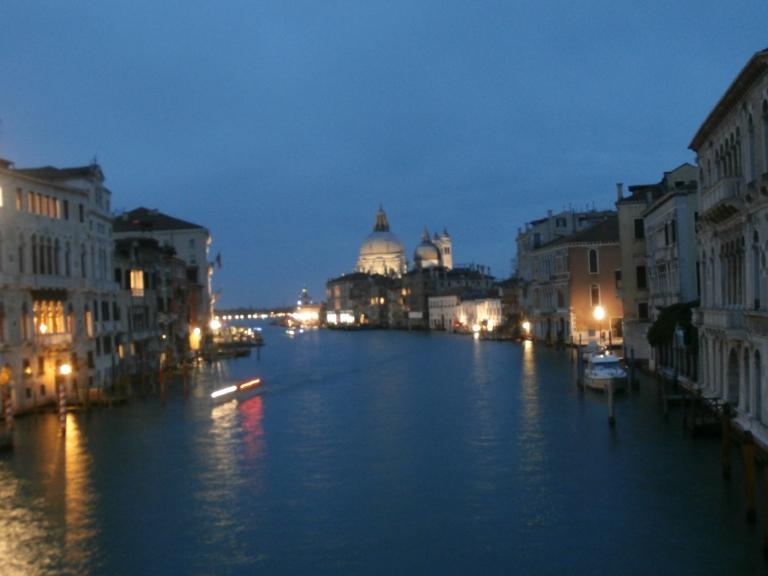 Desde el puente de la Accademia